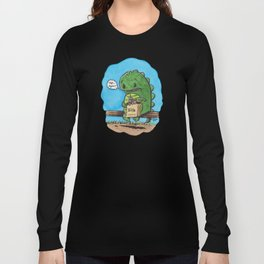"""lunch in the city"" Long Sleeve T-shirt"