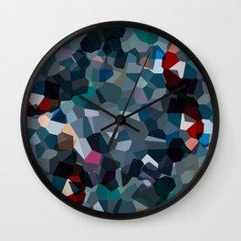 Ash Moon Love Wall Clock