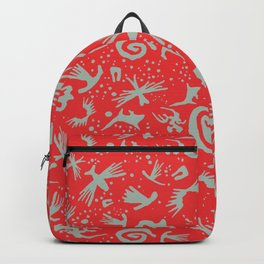 Moonchild TribalCayenne Red Backpack