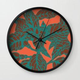 nettlerose Wall Clock