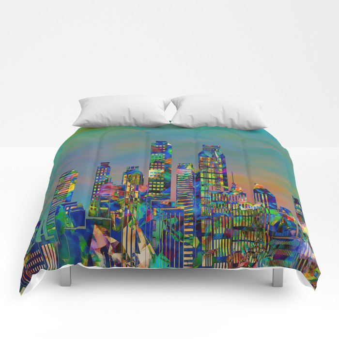 Graffiti City Comforters