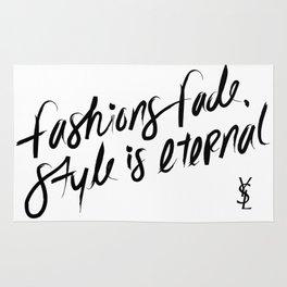 Style is Eternal Rug