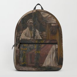 James Tissot - The Betrothal of the Holy Virgin and Saint Joseph Backpack