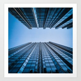 Abstract Architecture PPG Place Pittsburgh Pennsylvania Color Art Print