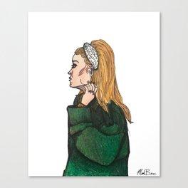 Headband Szn Canvas Print
