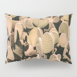 Cactus Maximalism // Vintage Bohemian Desert Photography Home Decor Summer Vibes Pillow Sham
