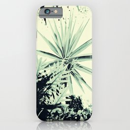Abstract Urban Garden iPhone Case