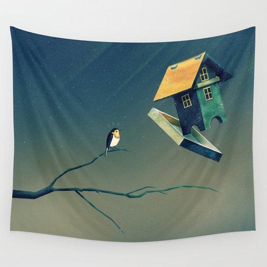 Flying Bird...house by mina_burtonesque