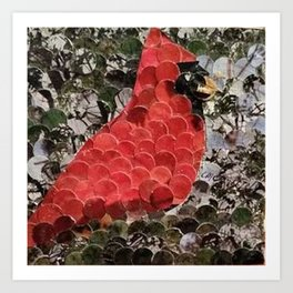 """""""Redbird"""" Art Print"""