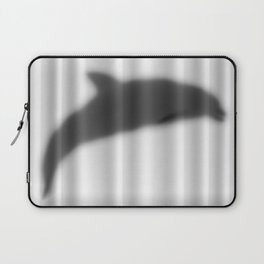 Dolphin Silhouette Laptop Sleeve