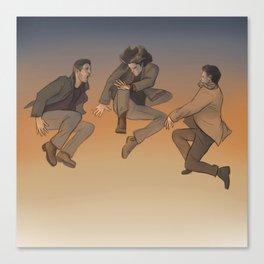 Team Free Will. Trampoline Canvas Print