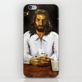 Coffee With Jesus iPhone Skin