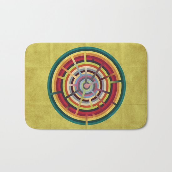 Lost in color Bath Mat