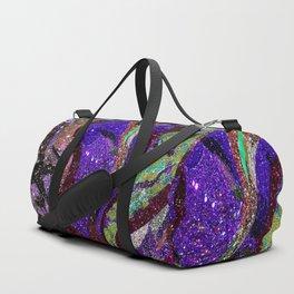 Retro Glitter Sky - Purple Palatte Duffle Bag