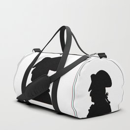 Pirate silhouette Duffle Bag