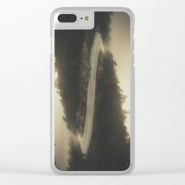 Road of life Clear iPhone Case