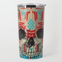 Skull Native Travel Mug