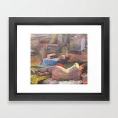 Figure #2 Framed Art Print