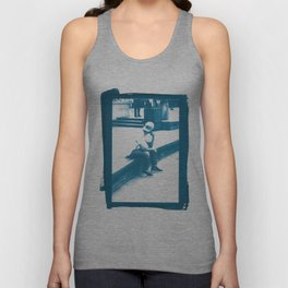 Philly in Cyan Unisex Tank Top