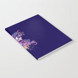 Purple sugar skull Notebook
