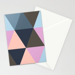 Triangle Meltdown Stationery Cards
