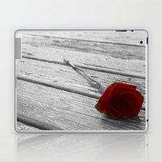 The single rose Laptop & iPad Skin