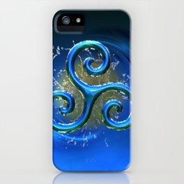 Sacred Geometry - Trinity 07 iPhone Case