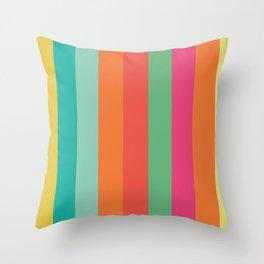 Stripes Colours Throw Pillow
