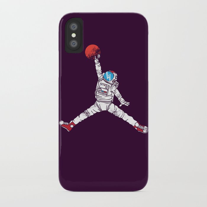 space dunk (purple ver.) iPhone Case