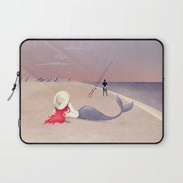 Keep Fishing Laptop Sleeve
