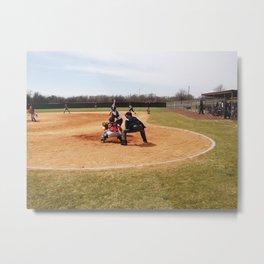 Softball Game (Clarksdale, Mississippi) Metal Print