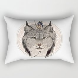 Wild Child - Lynx Rectangular Pillow
