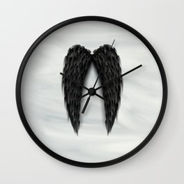 """""""...but we all have wings."""" Wall Clock"""