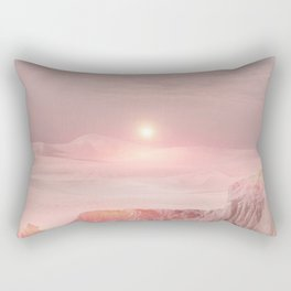 Pastel desert Rectangular Pillow