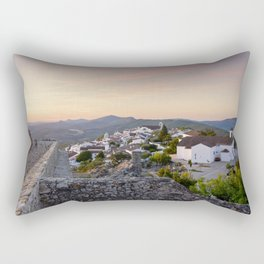 Dawn at Marvao, Portugal Rectangular Pillow