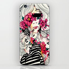 Flowers For Ethos iPhone Skin