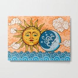 Sun God & Moon #1 Metal Print