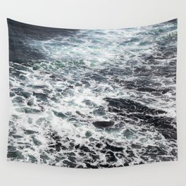 Getting lost in Ocean hues Wall Tapestry