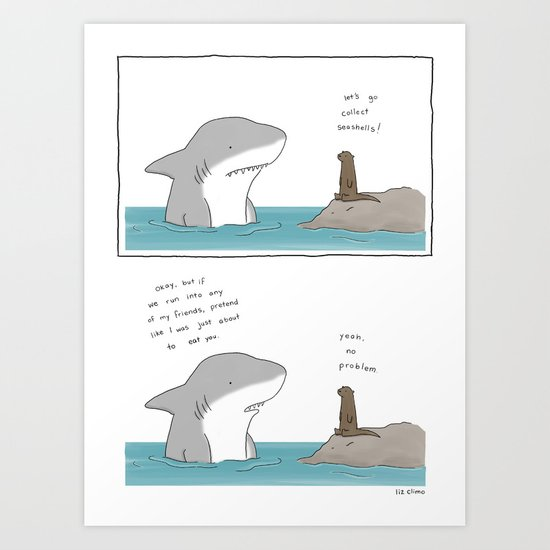 Relationships are Complicated  Art Print