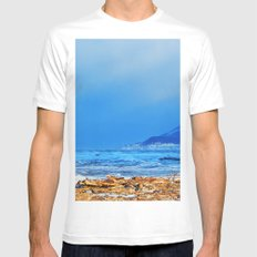 The House and the Sea Mens Fitted Tee White MEDIUM