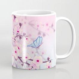 Cherry Blossom Landscape Coffee Mug