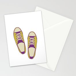 converse all star Stationery Cards