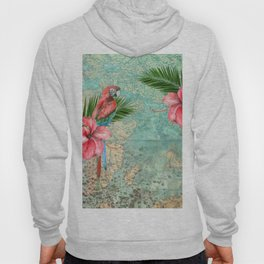 Tropical Map Hoody