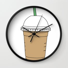 Starbucks Inspired Coffee Wall Clock
