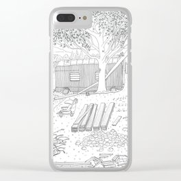 beegarden.works 015 Clear iPhone Case