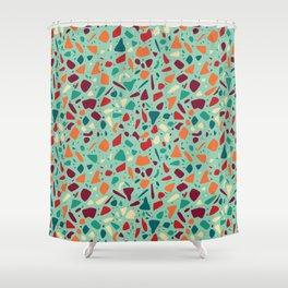 Terrazzo 014 Shower Curtain