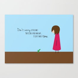 Don't Worry Little One Canvas Print