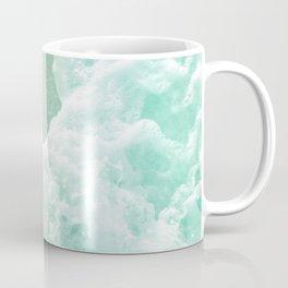 Soft Emerald Beige Ocean Beauty #1 #wall #decor #art #society6 Coffee Mug