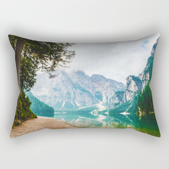 The Place To Be II Rectangular Pillow