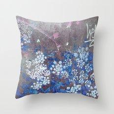 FlowerPower Fantasy 9-B Throw Pillow